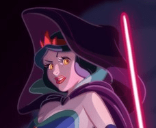 What Disney Princesses Would Look Like as Jedis and Siths