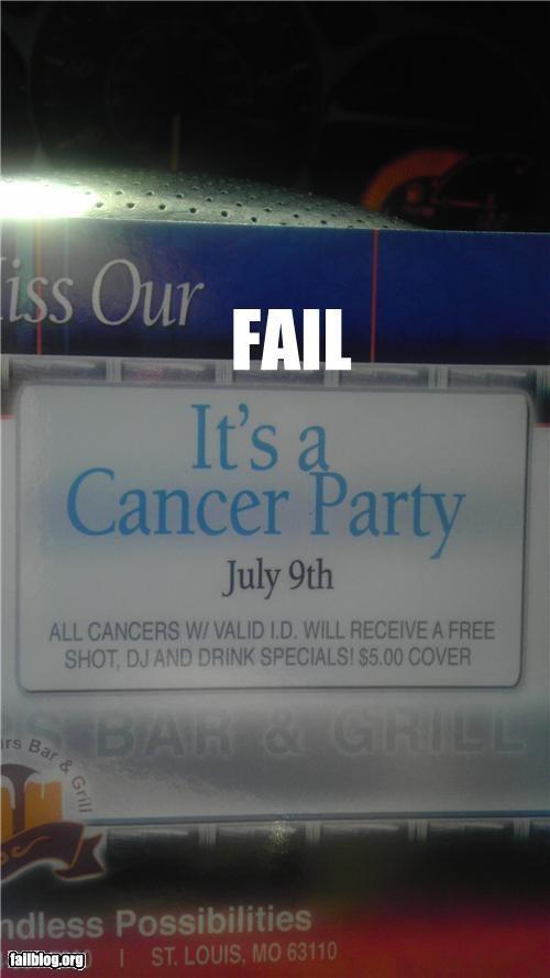 Party Name FAIL