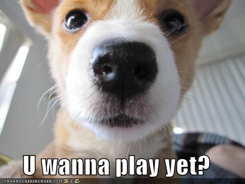 U wanna play yet?