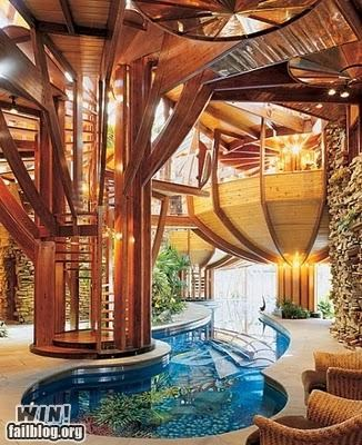awesome,design,homes,indoors,pools