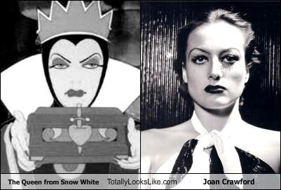 "The Queen from ""Snow White"" Totally Looks Like Joan Crawford"