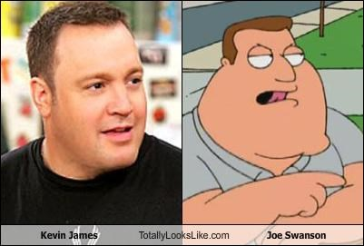 Kevin James Totally Looks Like Joe Swanson
