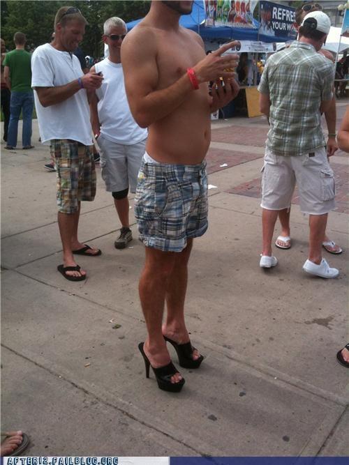 bro,cross dressing,heels,high heels