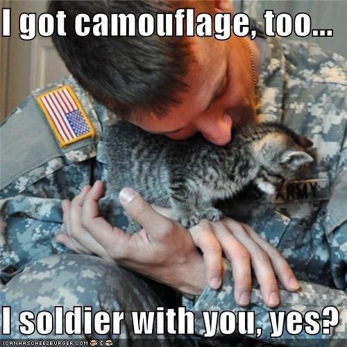 I got camouflage,
