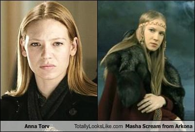 Anna Torv Totally Looks Like Masha Scream from Arkona