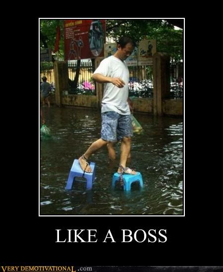 Like a Boss,Pure Awesome,shoes,water,wtf