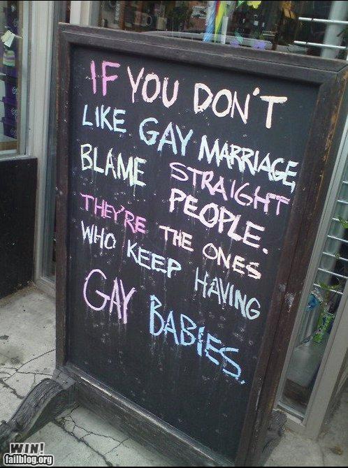 Babies,chalkboard,clever,logic,parents,politics,signs