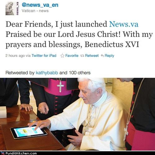 catholic church,political pictures,Pope Benedict XVI,twitter