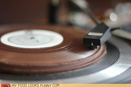 Playable Chocolate Record