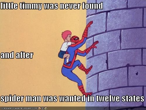 pedo,Spider-Man,Super-Lols,timmy,wanted