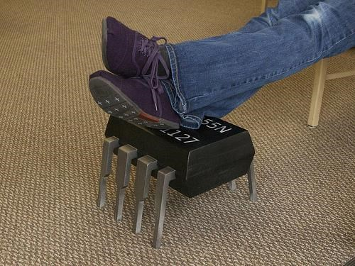 Geeky Footstool of the Day