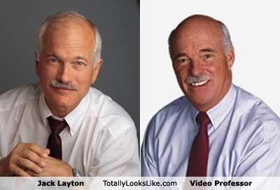 TLL Classics: Jack Layton Totally Looks Like The Video Professor