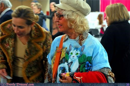 Cat Shirts at a Cat Show