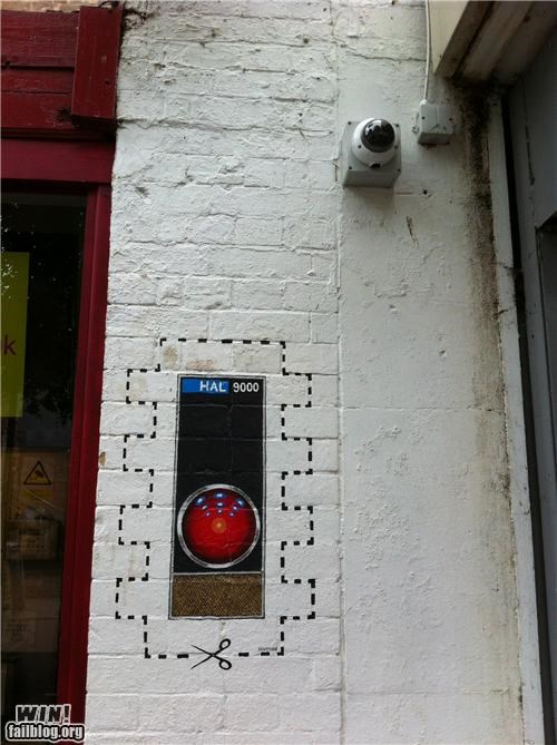 Hacked IRL: HAL Joins the Neighbourhood Watch