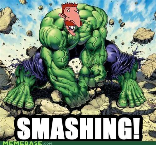 Sir Nigel Archibald Thornberry Smash!