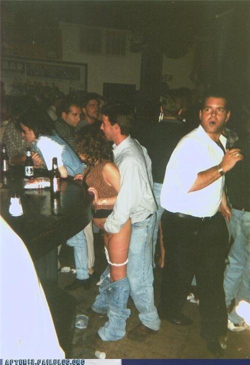 bar,pantsless,wtf
