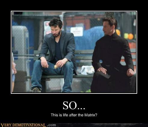 keanu,matrix,Sad