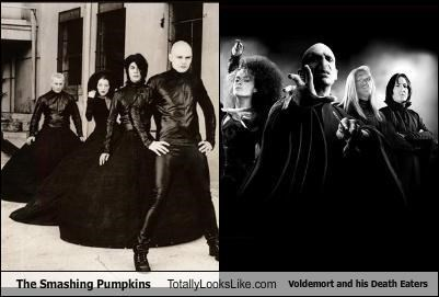 TLL Classics: The Smashing Pumpkins Totally Looks Like Voldemort And His Death Eaters