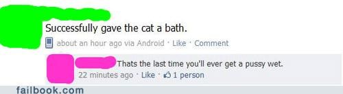"""Giving the Cat a Bath"""