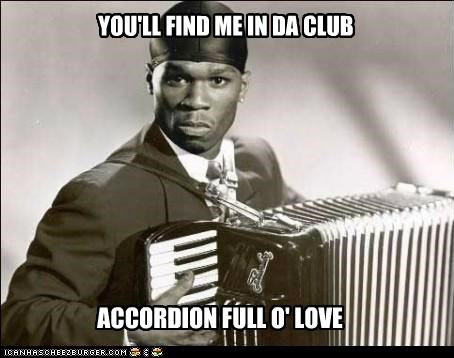I'll Take You To My Accordion Shop...