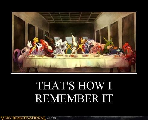 hilarious,last supper,Pokémon