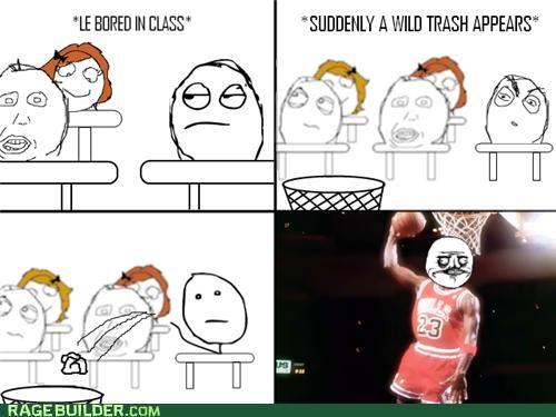 basket,michael jordan,Rage Comics,trash,win