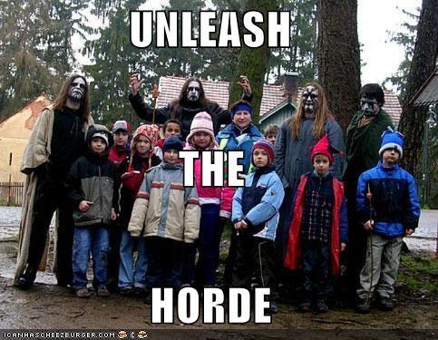 UNLEASH THE HORDE