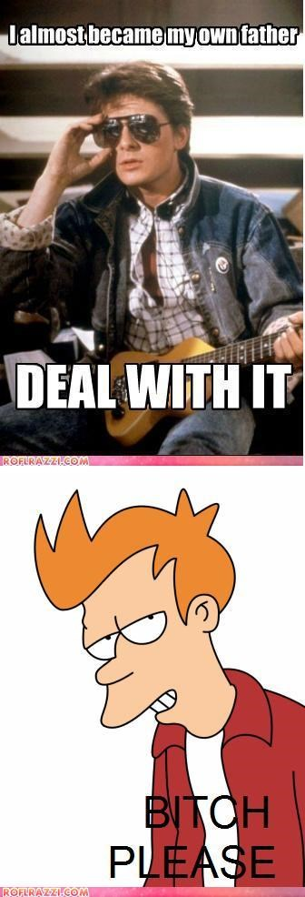 LOL McFly, I Got That Beat...