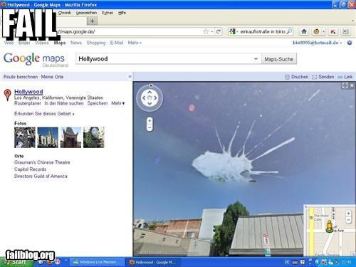 Google Street View FAIL