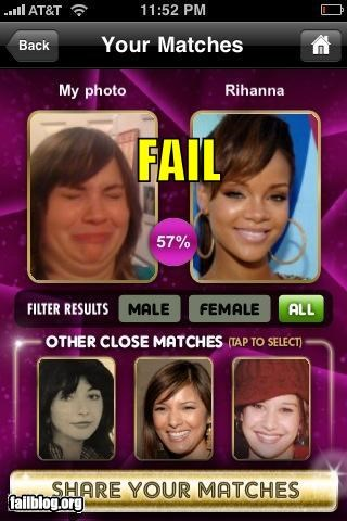Celebrity Look-Alike FAIL
