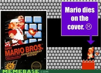 Cannot Unsee: Mario Box Art