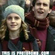 emma watson,Harry Potter,hermione,Matthew Lewis,neville,tv bomb