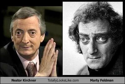 Nestor Kirchner Totally Looks Like Marty Feldman
