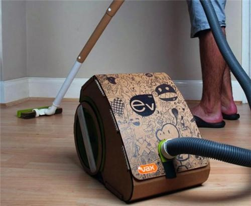 Cardboard Vacuum Cleaner of the Day