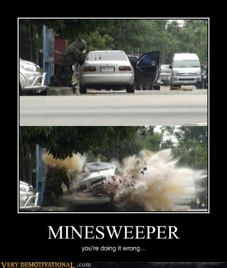 bomb disposal,game,hilarious,mine sweeper