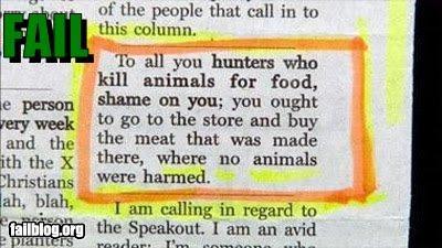 CLASSIC: Animal Rights FAIL