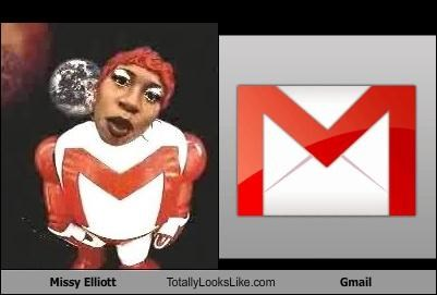 Missy Elliott Totally Looks Like Gmail