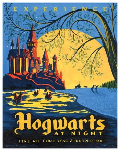 Harry Potter Travel Posters of the Day