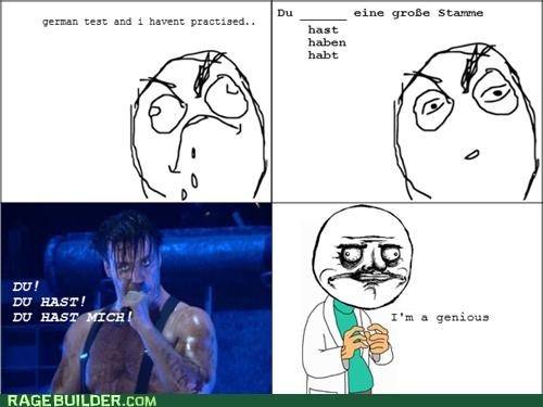Rammstein to the Rescue!