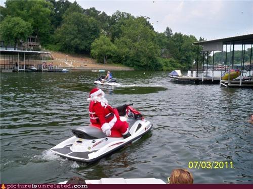 Summer Santa!