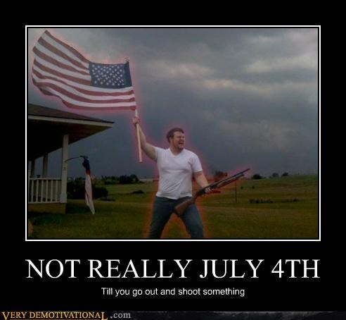 NOT REALLY JULY 4TH