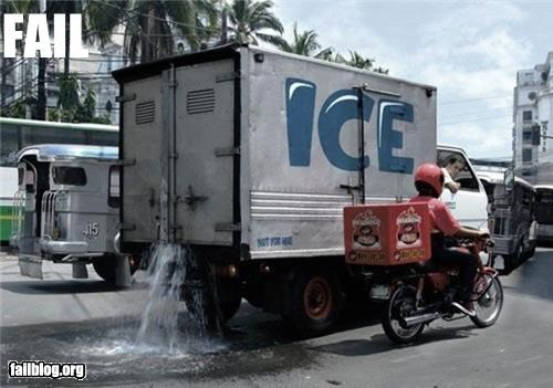 Ice Transportation FAIL