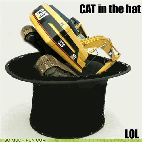 book,brand,cat,cat in the hat,dr seuss,hat,literalism,title,tonka,tunic