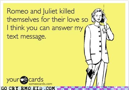 Silly Shakespearean Lovers...