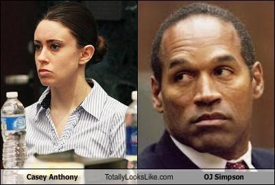 Casey Anthony Totally Looks Like OJ Simpson
