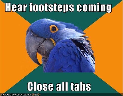 animemes,kids bop,Paranoid Parrot,parents,pets,steps,tabs
