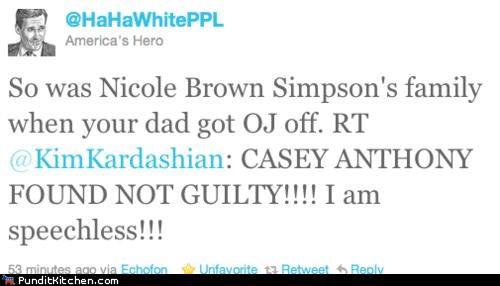 Casey Anthony,kim kardashian,political pictures,trial,twitter,verdict