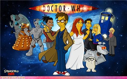 animation,art,doctor who,funny,Hall of Fame,sci fi,the simpsons,TV
