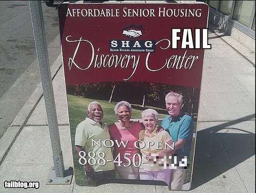 Senior Housing Acronym FAIL