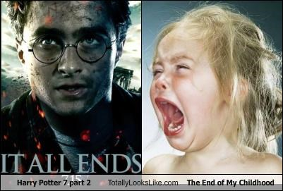 """Harry Potter and The Deathly Hallows  Part 2"" Totally Looks Like The End of My Childhood"